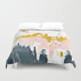 Multicolor spring abstract Duvet Cover