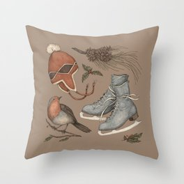 Winter Collection Throw Pillow