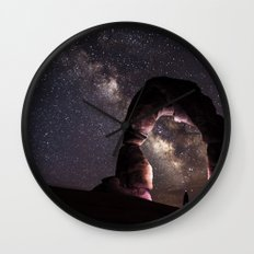 Watching stars Wall Clock