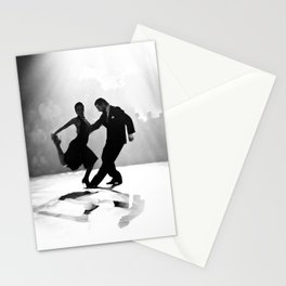Tango in Black Stationery Cards