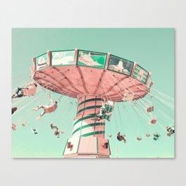 Joyful Spins Canvas Print