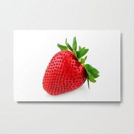 Strawberry on WhiteII Metal Print