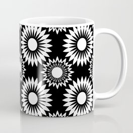 Black and white abstract pattern . 6 Coffee Mug