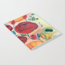 Roses and Daisies Notebook