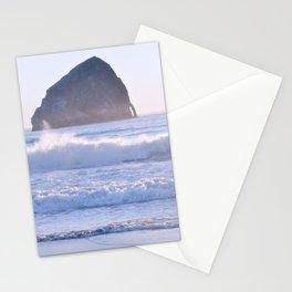 HAYSTACK ROCK - CAPE KIWANDA - PACIFIC CITY - OREGON Stationery Cards