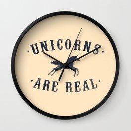 Unicorns Are Real II Wall Clock
