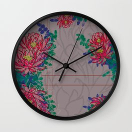 Lotus - Kinship Wall Clock