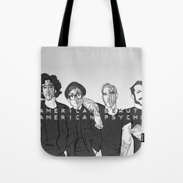 We're Just Resurrection Men Tote Bag