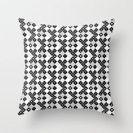 Kingdom Hearts III - Pattern - White Throw Pillow