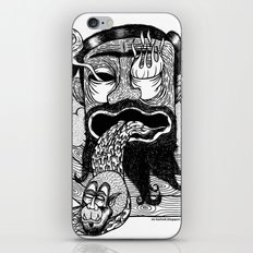 bruno is my enemy iPhone & iPod Skin
