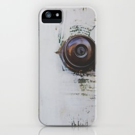 Door / Photography Print / Photography / Color Photography iPhone Case