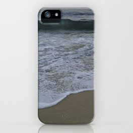 Teal Waters iPhone Case