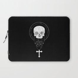Anti-Church Death Metal Skull Laptop Sleeve