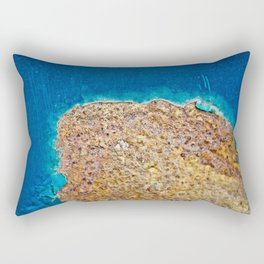 In Rust We Trust | The Island Rectangular Pillow
