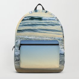 Serenity sea. Vintage Backpack