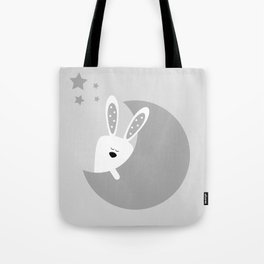 Bunny And The Moon Tote Bag