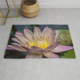 Beautiful Water Lily Rug