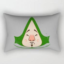 Tingly Assassin Rectangular Pillow