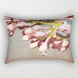 Beautiful Prink Spring Lilacs Rectangular Pillow