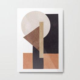 Abstract Geometric Art 10 Metal Print