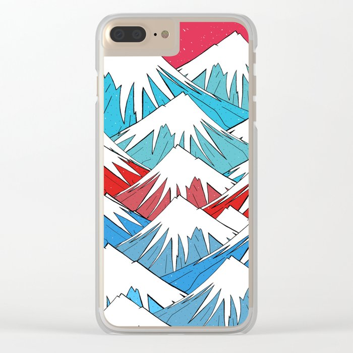 Red Sky Mounts Clear iPhone Case