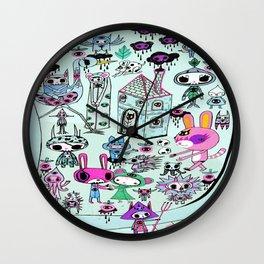 skellingpop Wall Clock