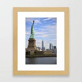 Lady of Freedom Framed Art Print