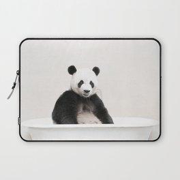 Panda Bath (c) Laptop Sleeve