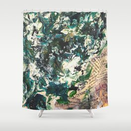 Irish Colours Shower Curtain