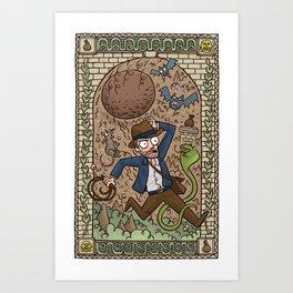 Raider Art Print