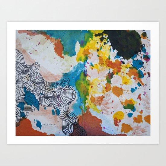 Moleskine #1 Art Print