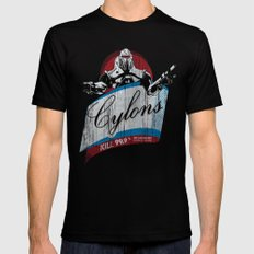 Cylons Huminfectant Spray  Black LARGE Mens Fitted Tee