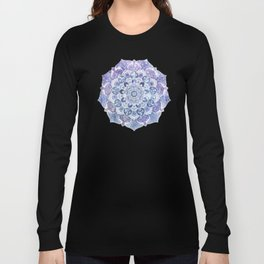 FREE YOUR MIND in Blue Long Sleeve T-shirt