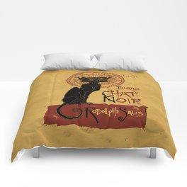 Le Chat Noir Comforters