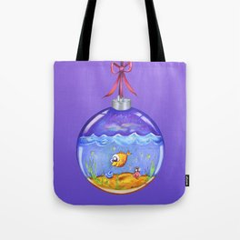 Merry christmas, in the form of fun! (Holiday ornament) Tote Bag
