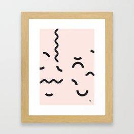 OY! Funfetti Framed Art Print