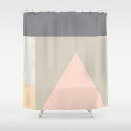 Pasteli Geometrico Shower Curtain