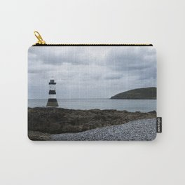 Trwyn Du Lighthouse And Puffin Island Carry-All Pouch