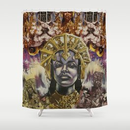 QUEEN OF THE JAMS Shower Curtain
