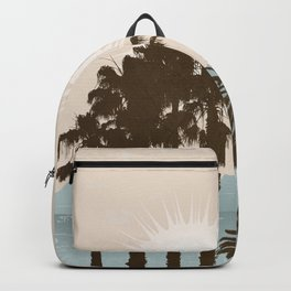 Summer Palm Trees II Backpack