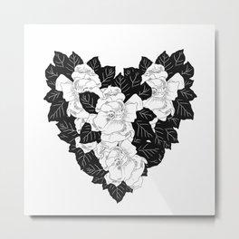 Gardenias Metal Print