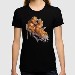 monkeys habits T-shirt