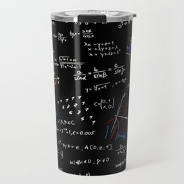 Math Equation Travel Mug