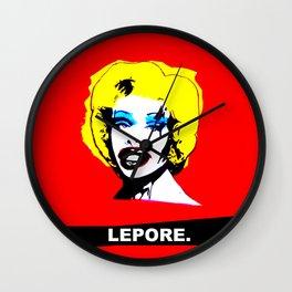 Amanda Lepore x Marilyn Monroe. Wall Clock