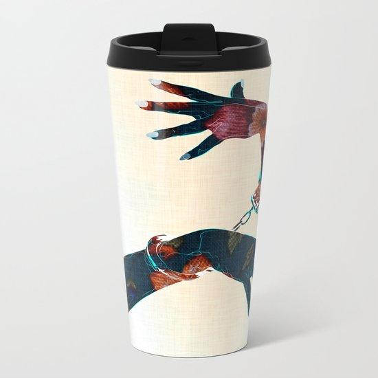 The Special_flowers Metal Travel Mug