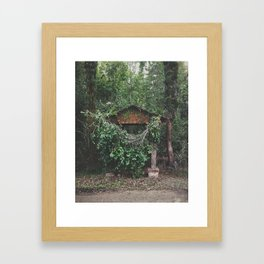 My Secret Garden Framed Art Print