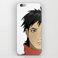 law iPhone & iPod Skins featuring Vincent Law by XDimov