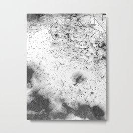 Winter Snowfall Metal Print