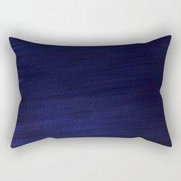 Dark Navy  Smooth Silk Rectangular Pillow