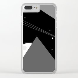 Magic Night Clear iPhone Case